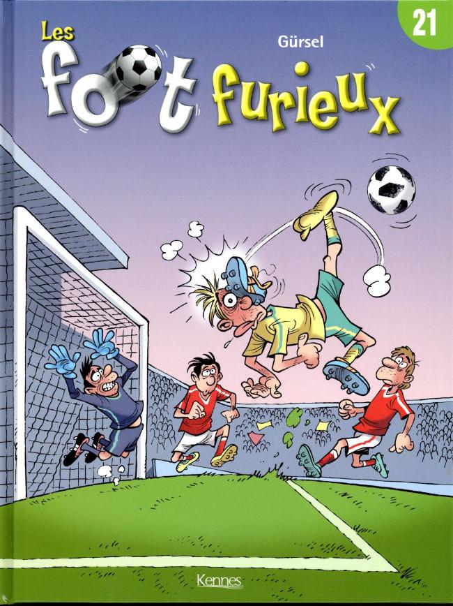 Couverture de Les foot furieux -21- Les Foot Furieux