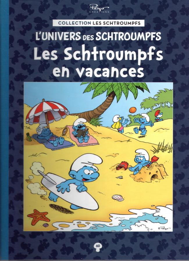 Couverture de Les schtroumpfs - La collection (Hachette) -60- Les Schtroumpfs en vacances