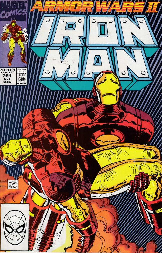 Couverture de Iron Man Vol.1 (Marvel comics - 1968) -261- Iron man #261