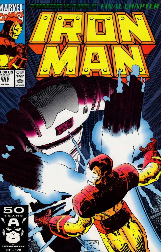 Couverture de Iron Man Vol.1 (Marvel comics - 1968) -266- Retribution!