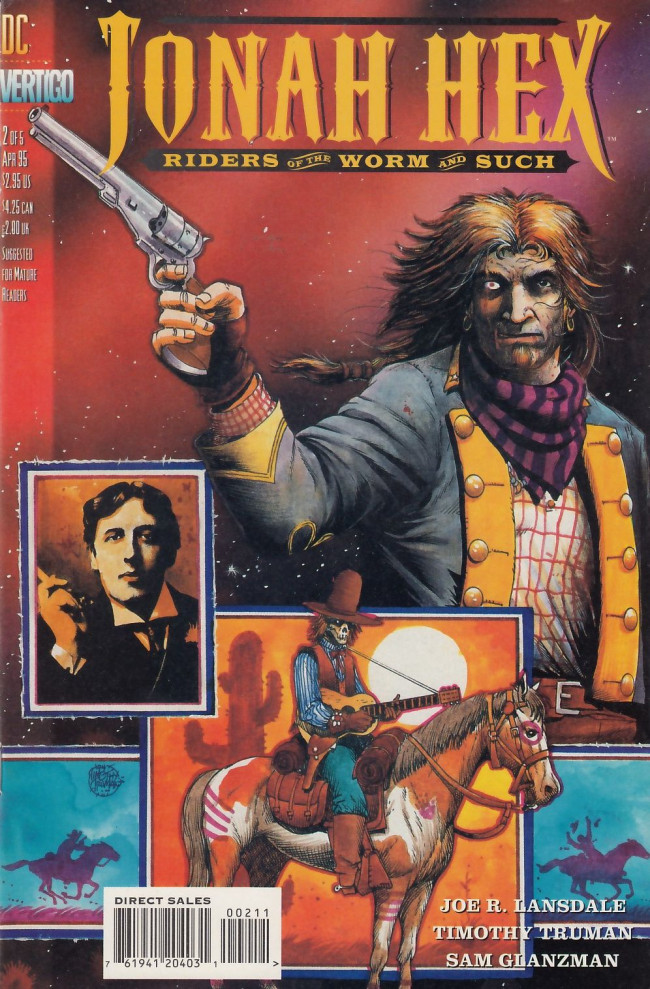 Couverture de Jonah Hex: Riders of the worm and such (1995) -2- Wilde's west