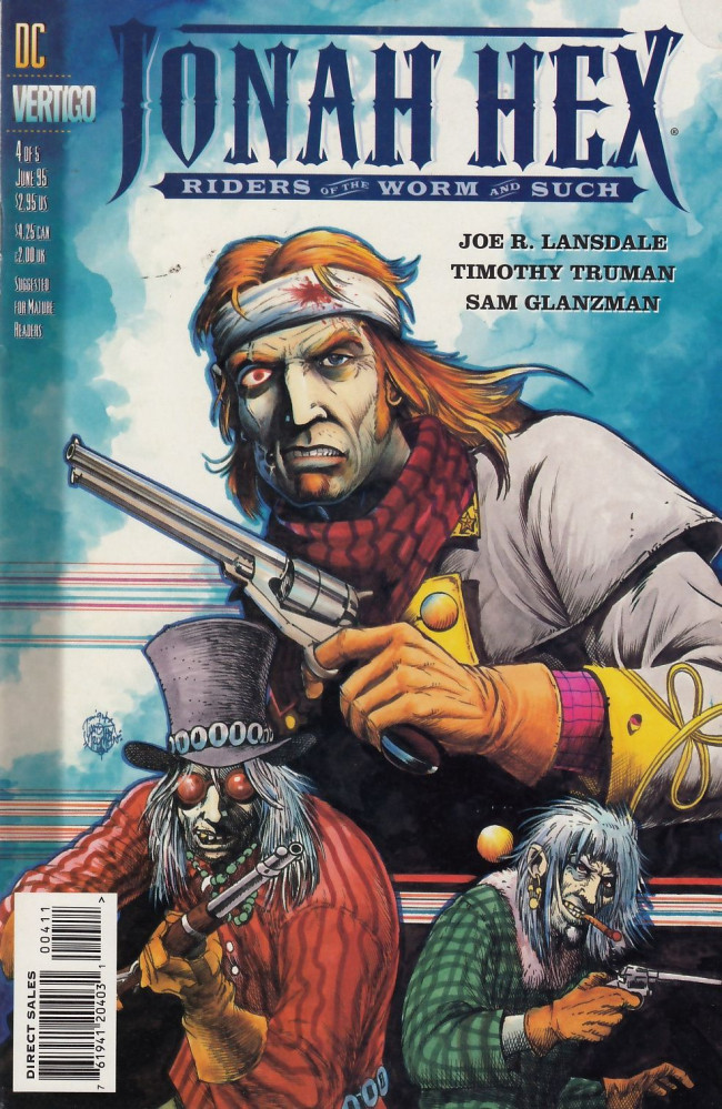 Couverture de Jonah Hex: Riders of the worm and such (1995) -4- Autumns of our discontent