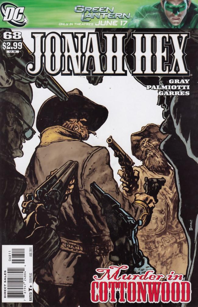 Couverture de Jonah Hex (2006) -68- Murder in Cottonwood