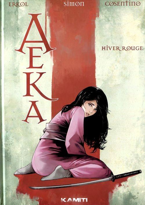 Couverture de Aeka - Hiver rouge