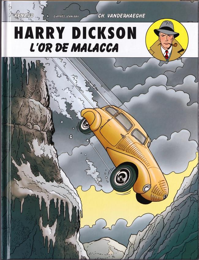 Couverture de Harry Dickson (Vanderhaeghe/Zanon) -13- L'or de Malacca