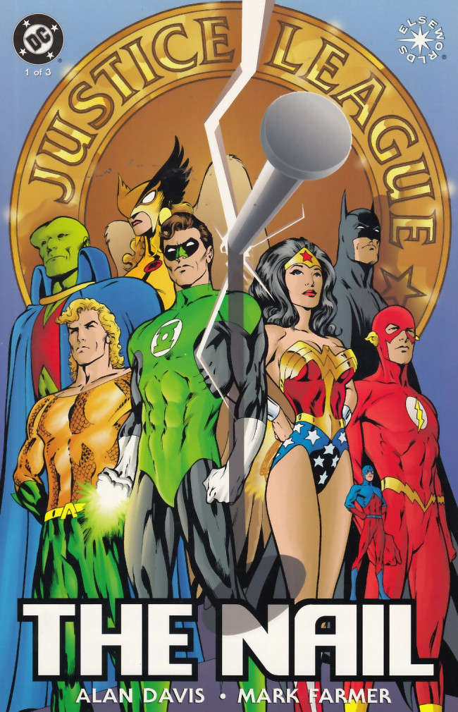 Couverture de Justice League of America: The Nail (1998) -1- The Nail: Book One of Three