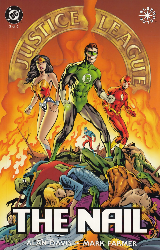 Couverture de Justice League of America: The Nail (1998) -2- The Nail, Book Two of Three