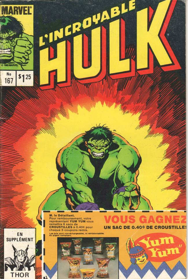Couverture de L'incroyable Hulk (Éditions Héritage) -167- La chasse à travers les mondes !