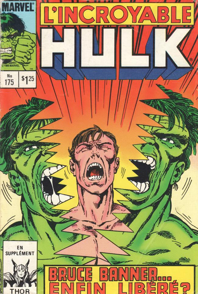Couverture de L'incroyable Hulk (Éditions Héritage) -175- Liberté !