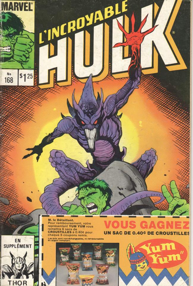 Couverture de L'incroyable Hulk (Éditions Héritage) -168- ... Et ici sont les démons !