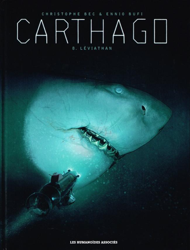 Couverture de Carthago -8- Leviathan