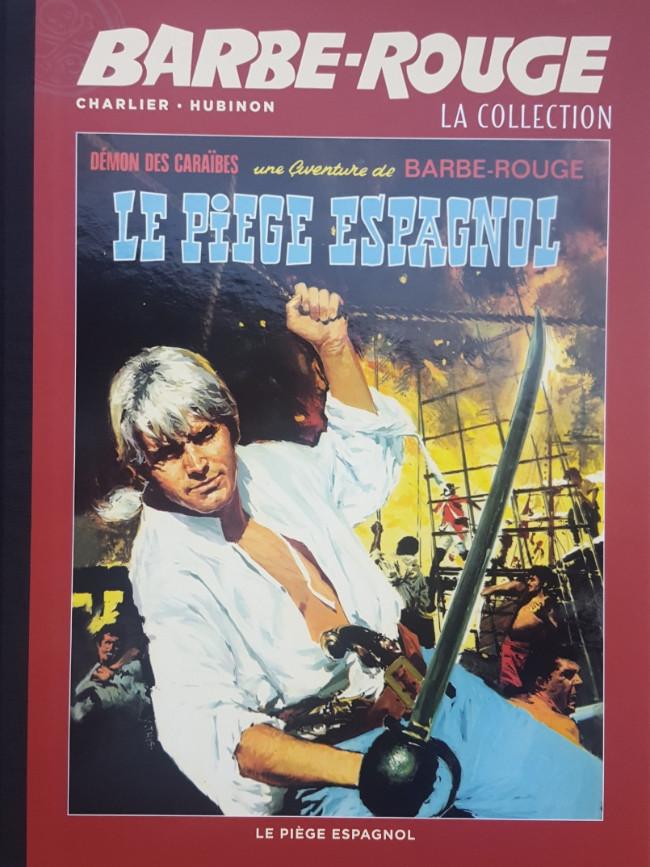 Couverture de Barbe-Rouge (Eaglemoss) -8- Le Piège Espagnol