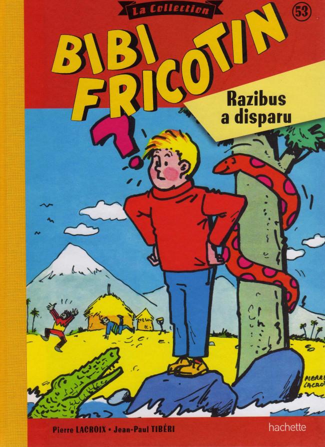Couverture de Bibi Fricotin (Hachette - la collection) -53- Razibus a disparu
