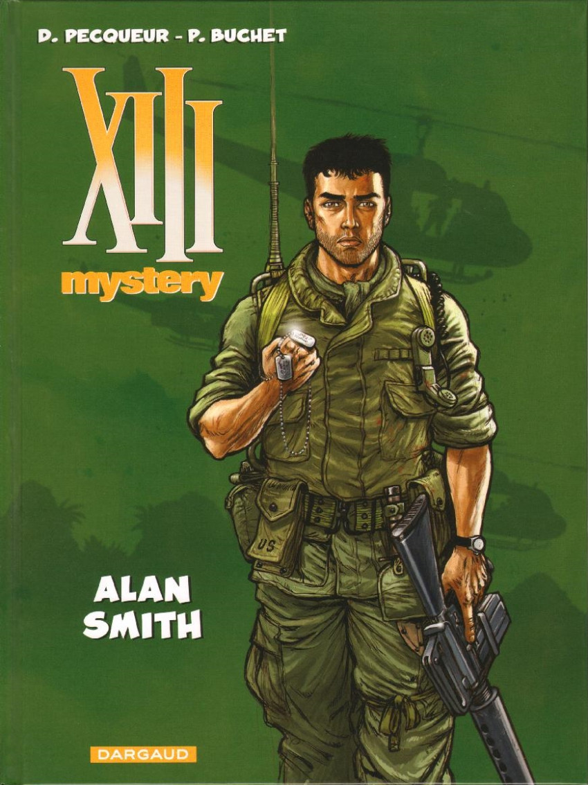 Couverture de XIII Mystery -12- Alan Smith