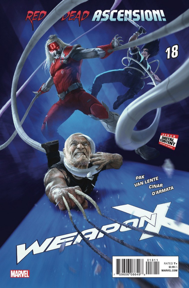 Couverture de Weapon X (2017) -18- Sabretooth's in Charge: Part 2