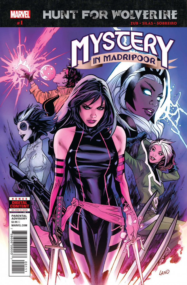 Couverture de Hunt for Wolverine - Mystery in Madripoor -1- Issue #1