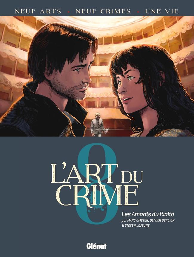 Couverture de L'art du crime -8- Les Amants du Rialto