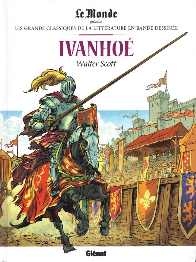 Couverture de Les grands Classiques de la littérature en bande dessinée -37- Ivanhoé