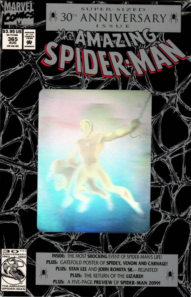 Couverture de The amazing Spider-Man Vol.1 (Marvel comics - 1963) -365- 30th Anniversary Issue