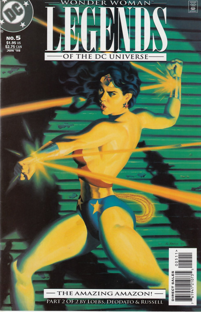 Couverture de Legends of the DC universe (1998) -5- Moments part 2 of 2