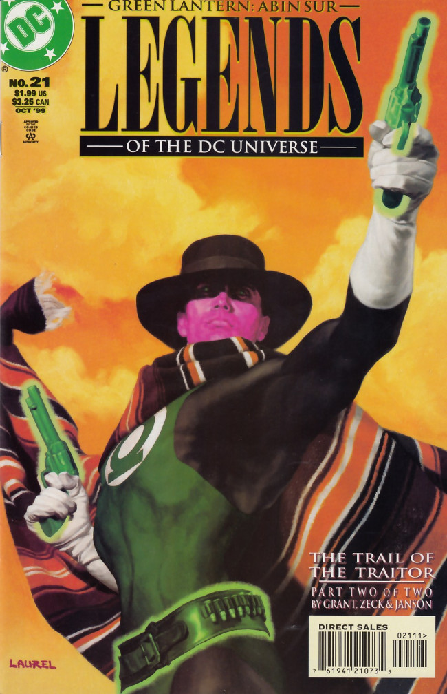 Couverture de Legends of the DC universe (1998) -21- The trail of the traitor part 2 of 2