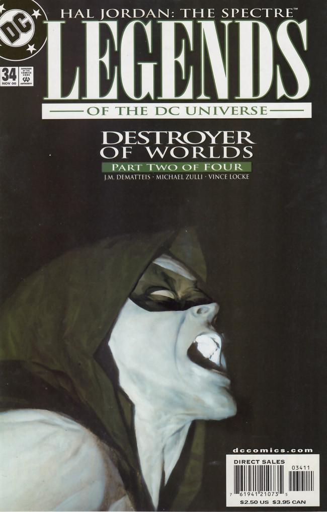 Couverture de Legends of the DC universe (1998) -34- Destroyer of worlds part 2 of 4