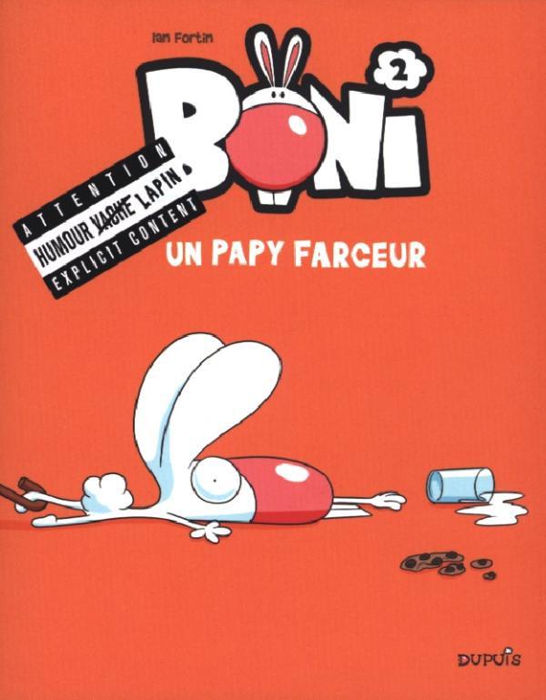 Couverture de Boni -2- Un papy farceur
