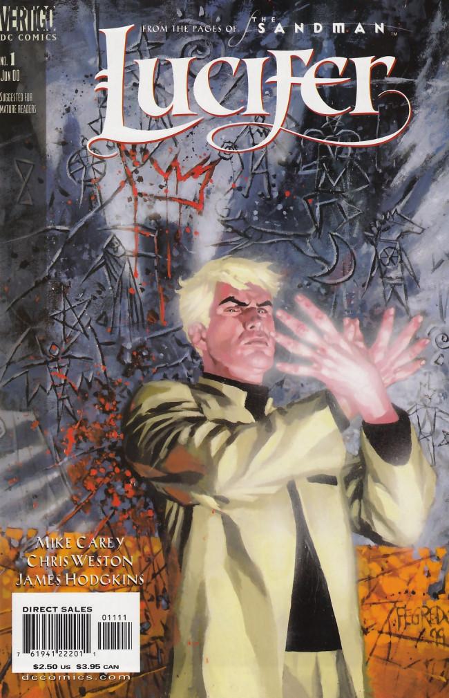 Couverture de Lucifer (2000) -1- A Six Card Spread