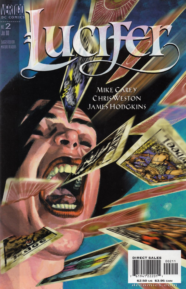Couverture de Lucifer (2000) -2- A Six Card Spread Part 2