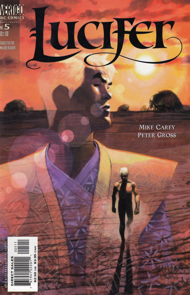 Couverture de Lucifer (2000) -5- The House of Windowless Rooms, Part 1