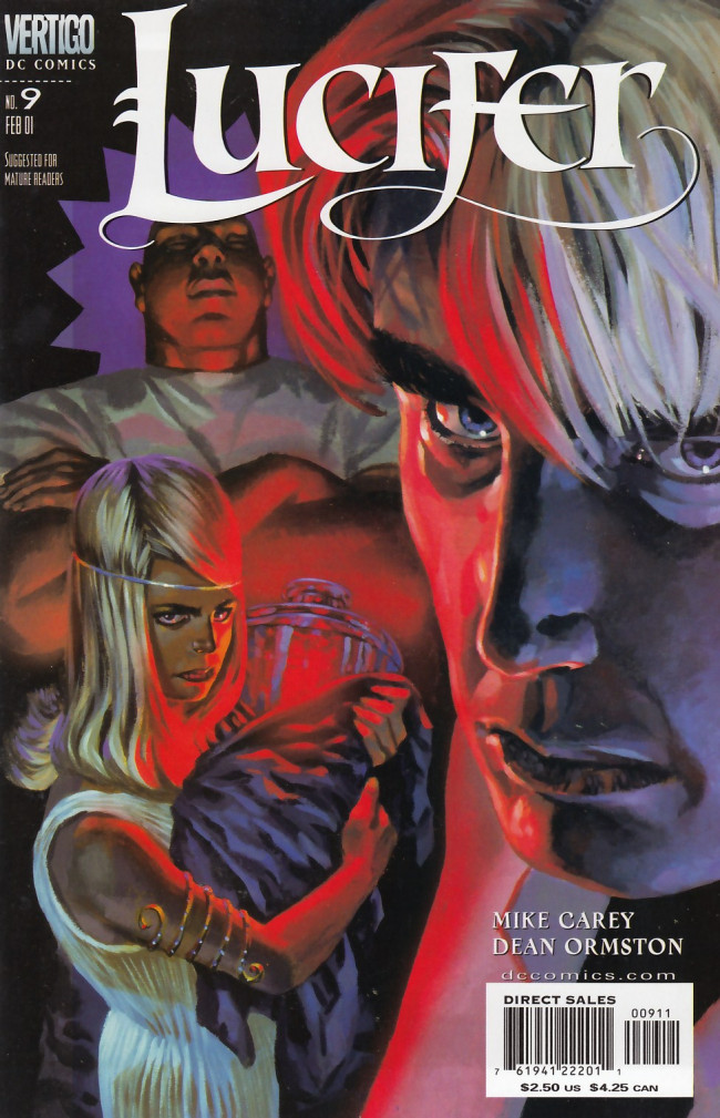 Couverture de Lucifer (2000) -9- Children and Monsters Prelude