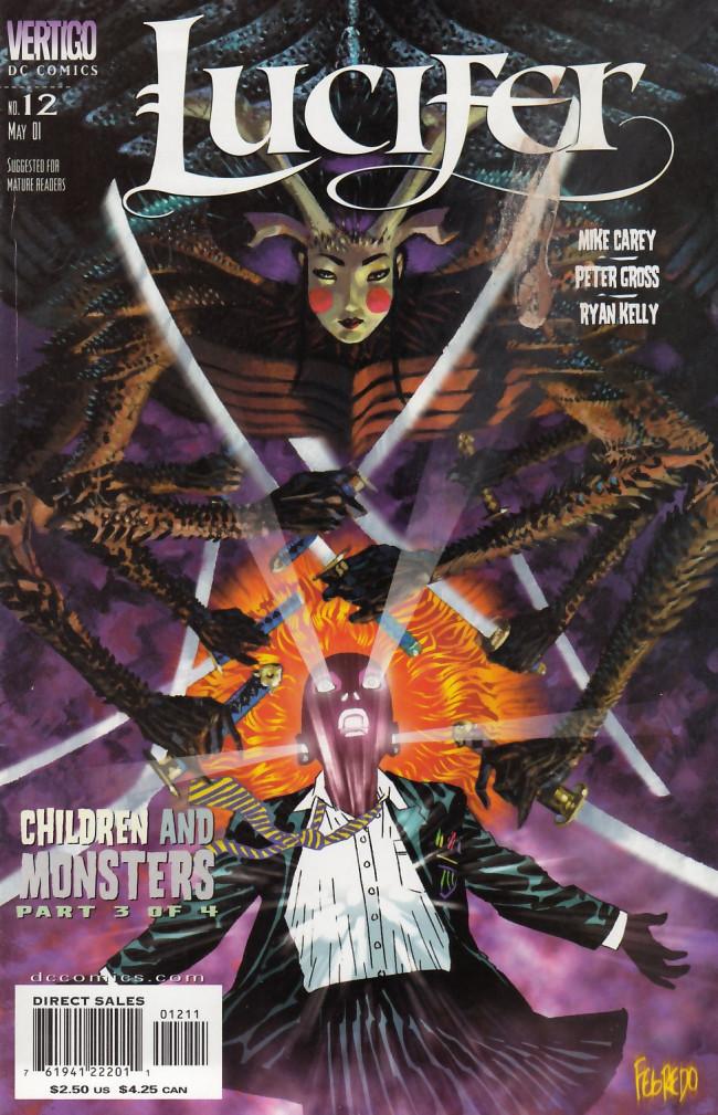 Couverture de Lucifer (2000) -12- Children & Monsters Part Three