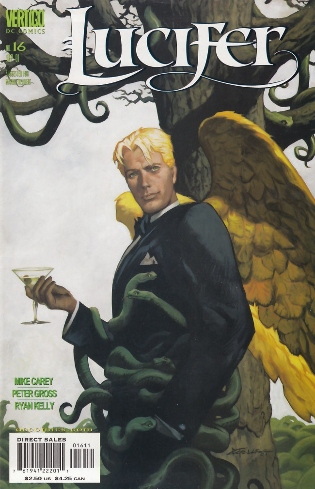 Couverture de Lucifer (2000) -16- Triptych 3 of 3 The Ancestral Deed