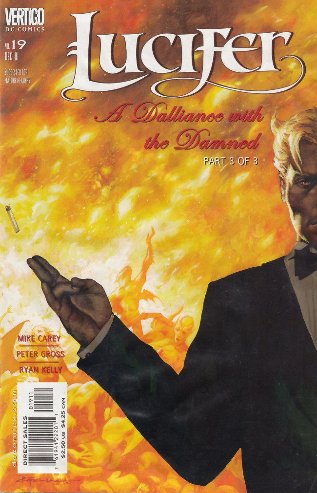 Couverture de Lucifer (2000) -19- A Dalliance with the Damned Part 3 of 3