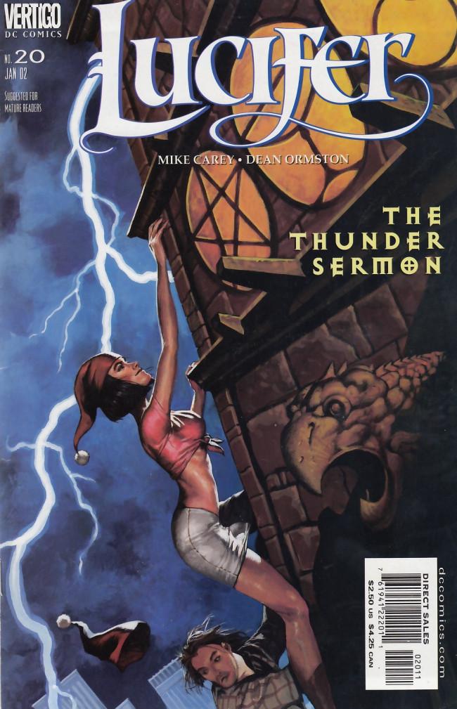 Couverture de Lucifer (2000) -20- The Thunder Sermon