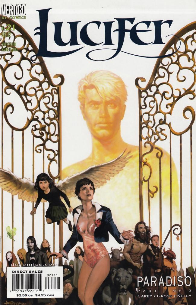 Couverture de Lucifer (2000) -21- Paradiso Part 1 of 3