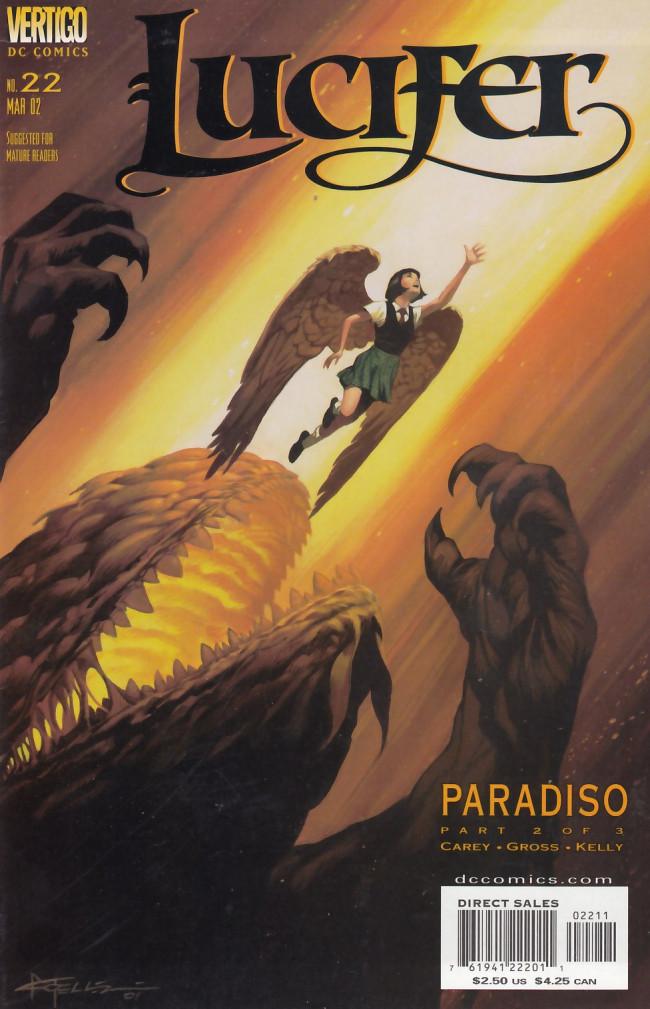 Couverture de Lucifer (2000) -22- Paradiso Part 2 of 3