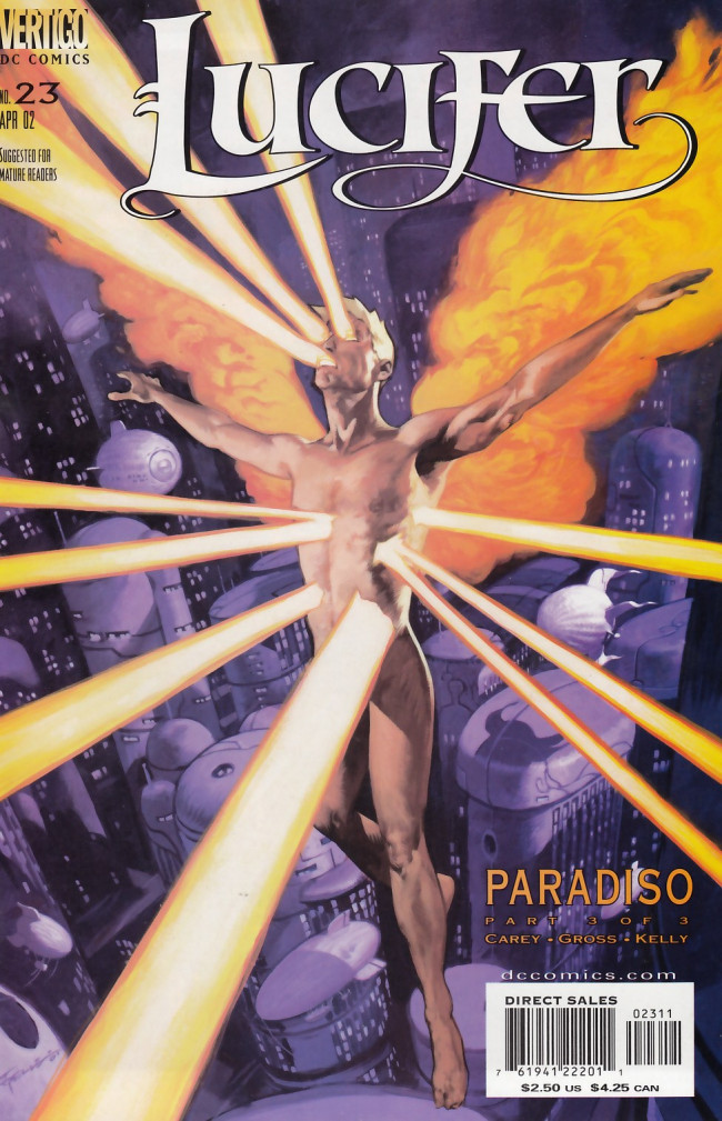 Couverture de Lucifer (2000) -23- Paradiso Part 3 of 3