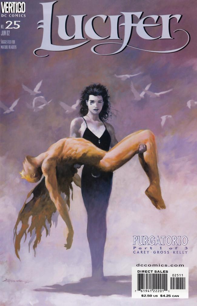 Couverture de Lucifer (2000) -25- Purgatorio Part 1 of 3