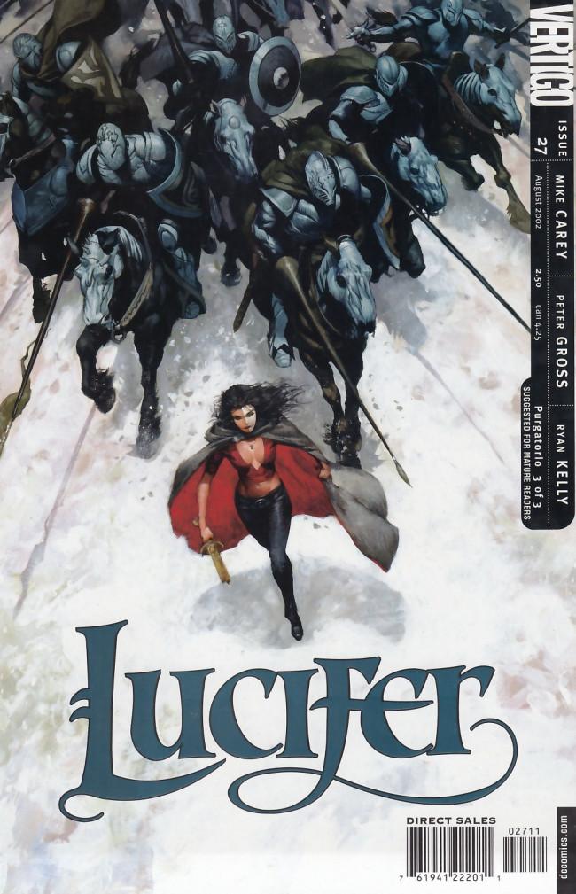 Couverture de Lucifer (2000) -27- Purgatorio Part 3 of 3