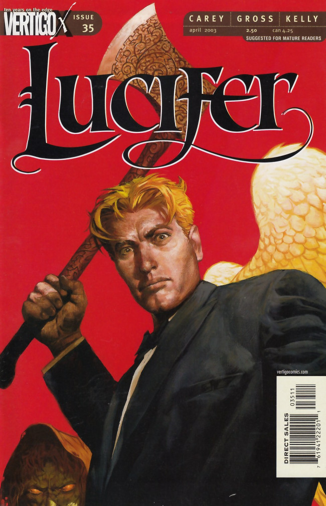 Couverture de Lucifer (2000) -35- Come To Judgment Part Two of Two