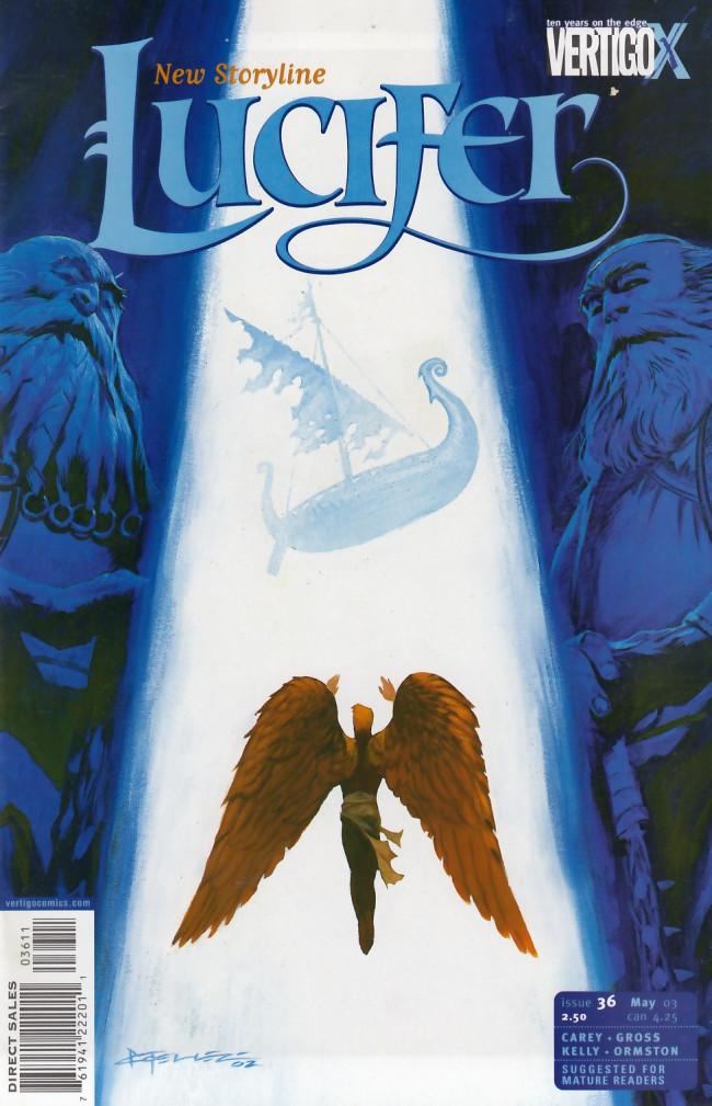 Couverture de Lucifer (2000) -36- Naglfar, part 1: The Muster
