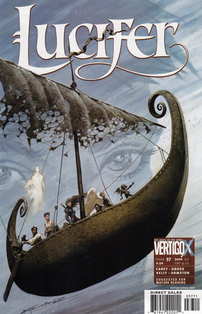 Couverture de Lucifer (2000) -37- Naglfar, part 2: The Voyage Out