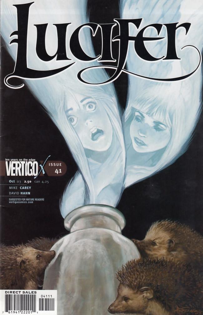 Couverture de Lucifer (2000) -41- Sisters of Mercy