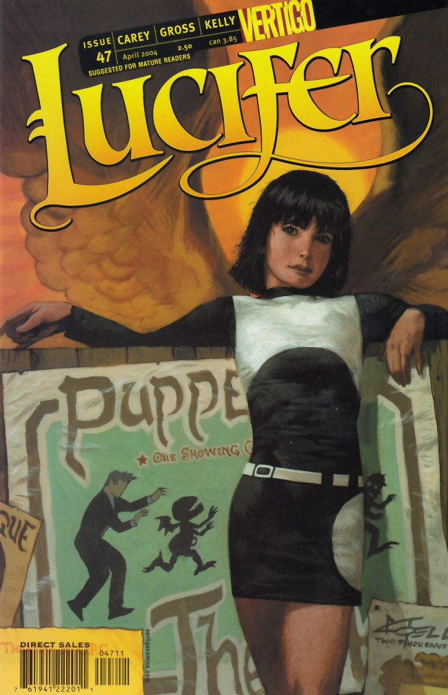 Couverture de Lucifer (2000) -47- The Winnowing [Wire, Briar, Limber Lock Part 1]