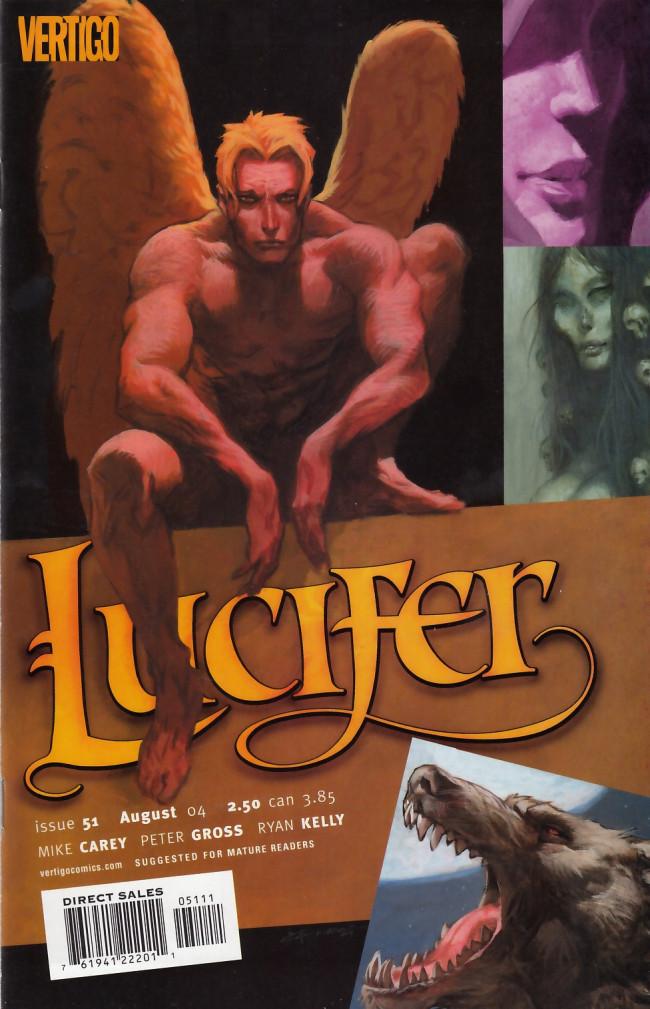 Couverture de Lucifer (2000) -51- The Wolf Beneath the Tree, part 1