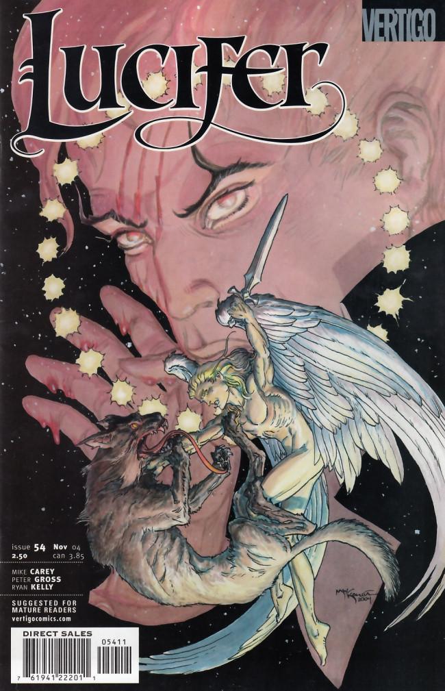 Couverture de Lucifer (2000) -54- The Wolf Beneath the Tree, part 4