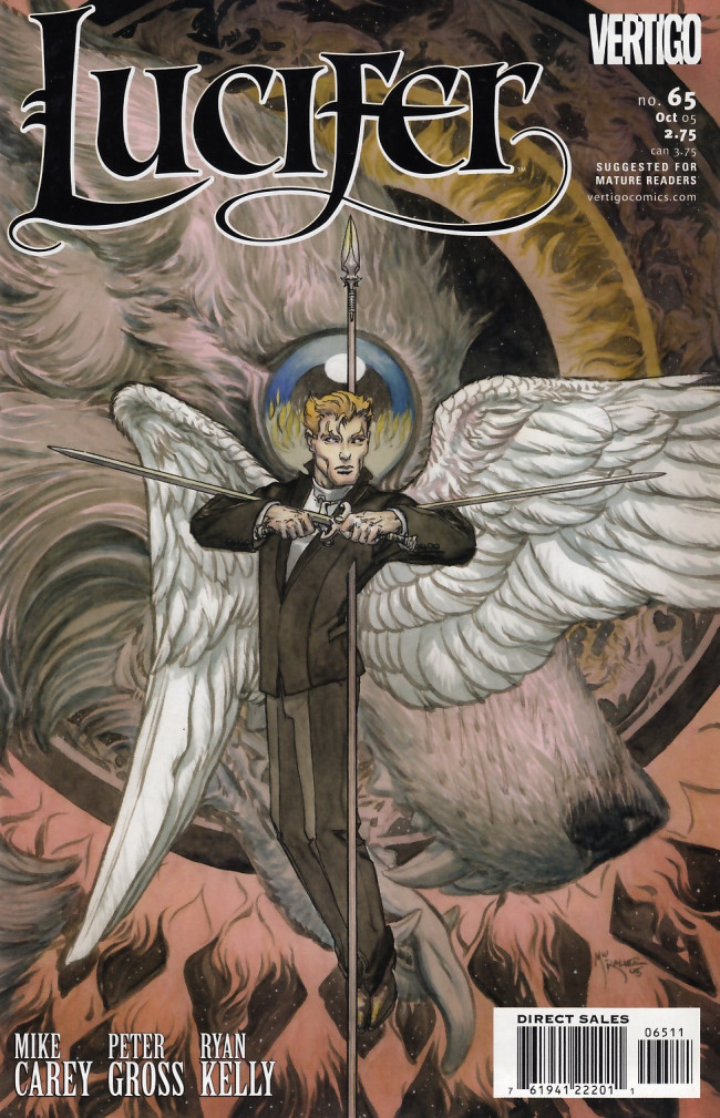 Couverture de Lucifer (2000) -65- Morningstar, Part 3