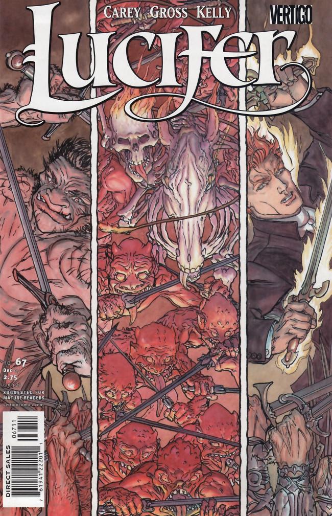 Couverture de Lucifer (2000) -67- Morningstar, Part 4