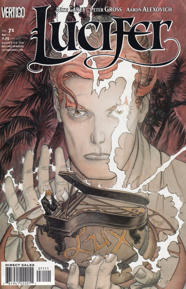Couverture de Lucifer (2000) -71- Evensong, Part 1